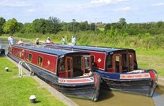 Narrowboat England